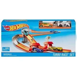 Hot Wheels, 3-in-1 Turbo Race Track Set