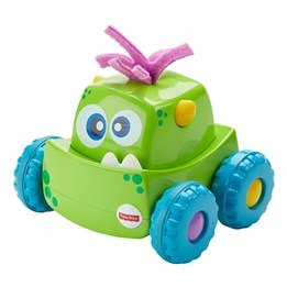 Fisher Price, Monster Trucks Press & Go - Grön