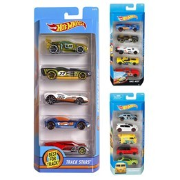 Hot Wheels, Basic 5-pack Bilar