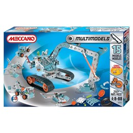 Meccano, 15 Model set - Multimodels 250-delar