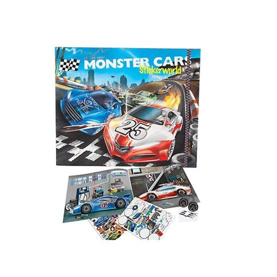 Monster Cars, Stickerworld