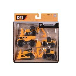 CAT, Mini Machine 5-pack