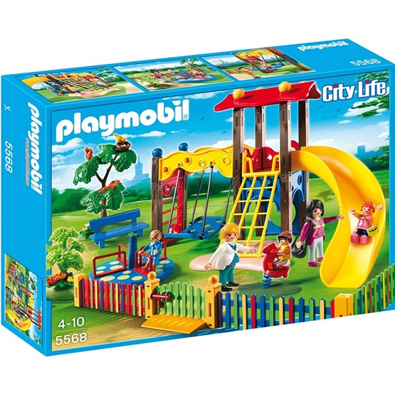 Playmobil City Life 5568, Lekplatsen