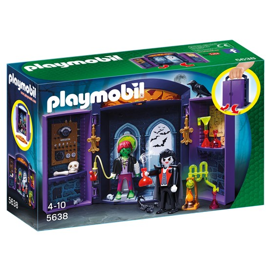 Playmobil Action 5638, Bärbart spökhus