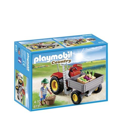 Playmobil Country 6131, Traktor med lastflak