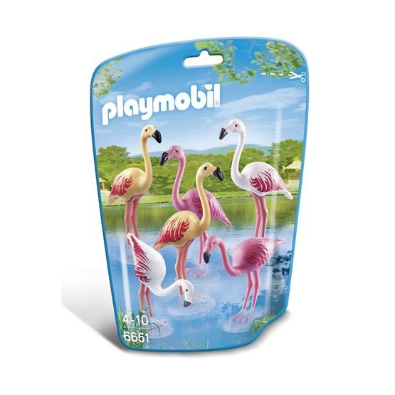 Playmobil City Life 6651, Flamingoflock
