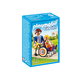 Playmobil City Life 6663, Barn i rullstol