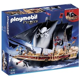 Playmobil Pirates 6678, Piratskepp