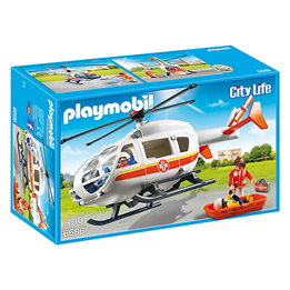 Playmobil City Life 6686, Ambulanshelikopter