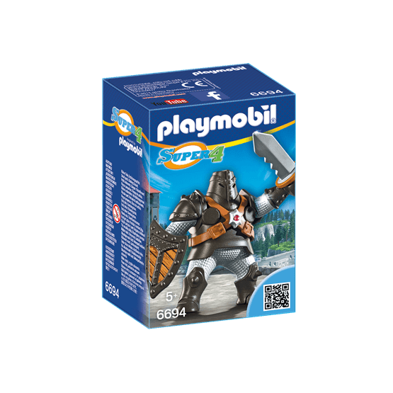 Playmobil Super 4 6694, Black Colossus