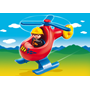Playmobil 1.2.3 6789, Brandhelikopter