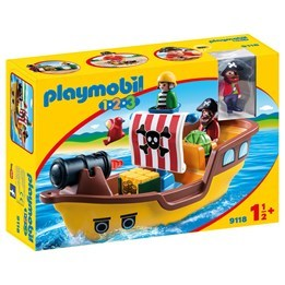 Playmobil 1.2.3 9118, Piratskepp