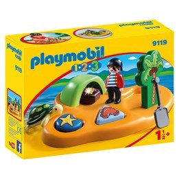 Playmobil 1.2.3 9119, Piratö