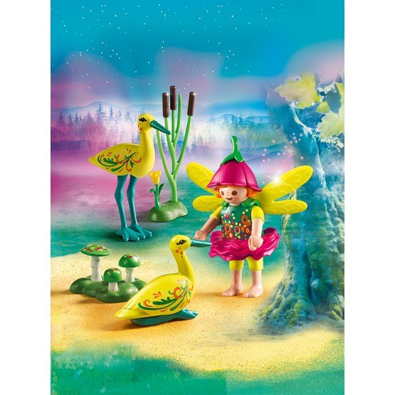 Playmobil fairies 9138 lvflicka med storkar hem for Mobilia 3 butik