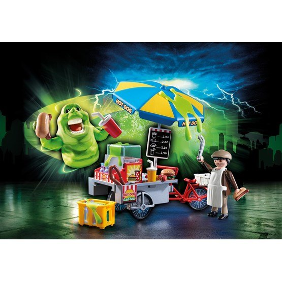 Playmobil ghostbusters 9222 slimre med korvst nd hem for Mobilia 3 butik