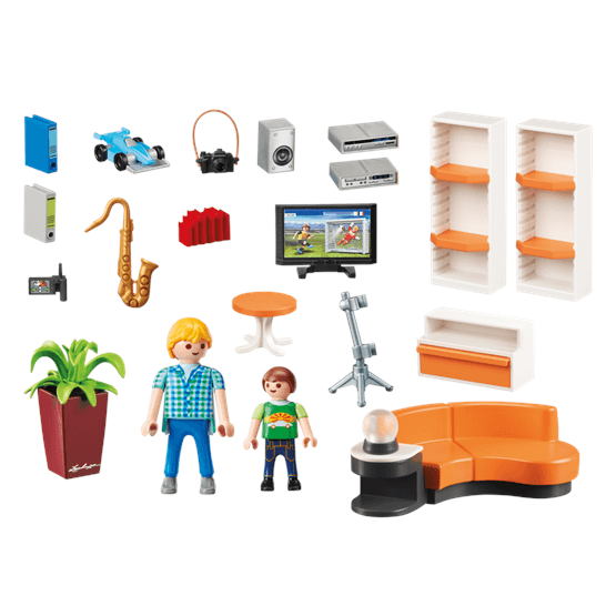 Playmobil city life 9267 vardagsrum for Mobilia 3 butik