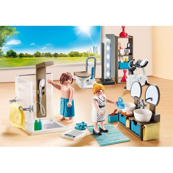 Playmobil city life 9268 badrum hem for Mobilia 3 butik