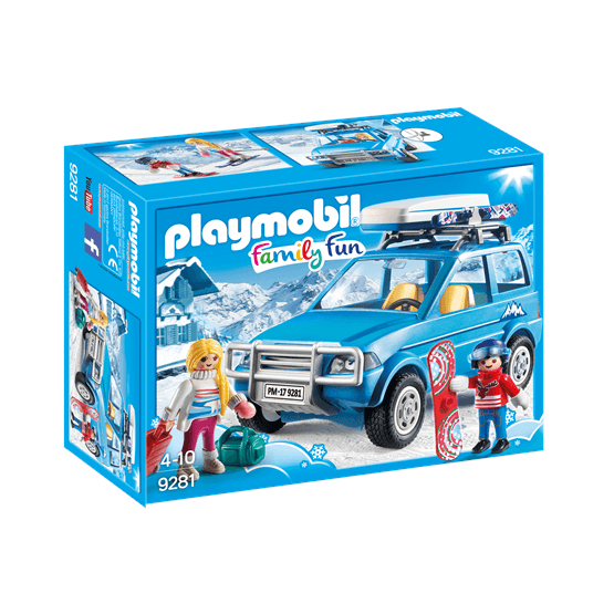 Playmobil Family Fun 9281, Bil med takbox