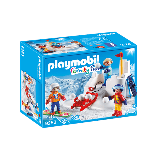 Playmobil Family Fun 9283, Snöbollskrig