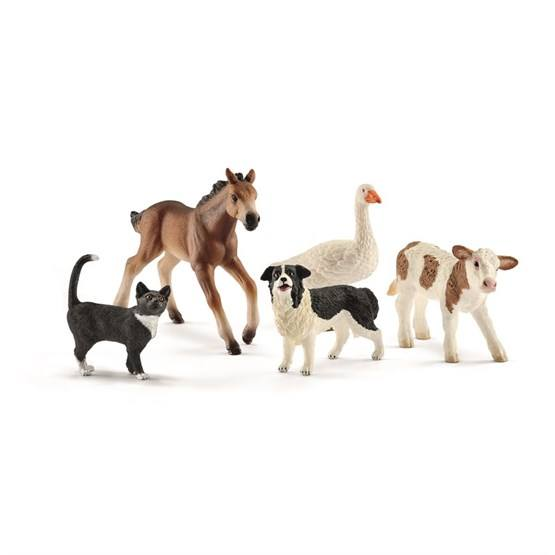 Schleich, Farmor World - Bondgårdsdjur 5-pack
