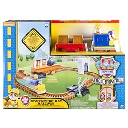 Paw Patrol, Rubbles - On A Roll Rescue Train set