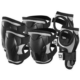 STIGA, Protection set Comfort 3-p black jr m